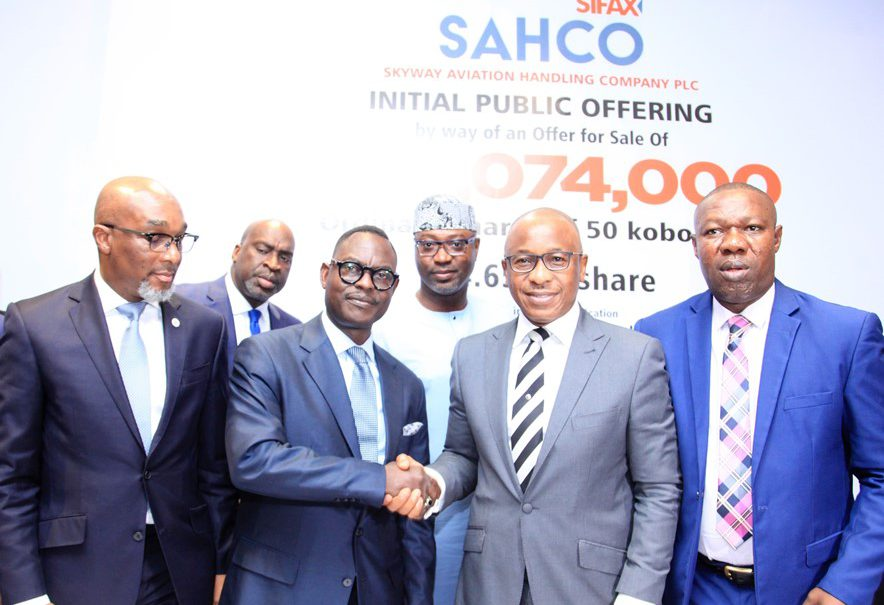 SAHCO Signing Ceremony